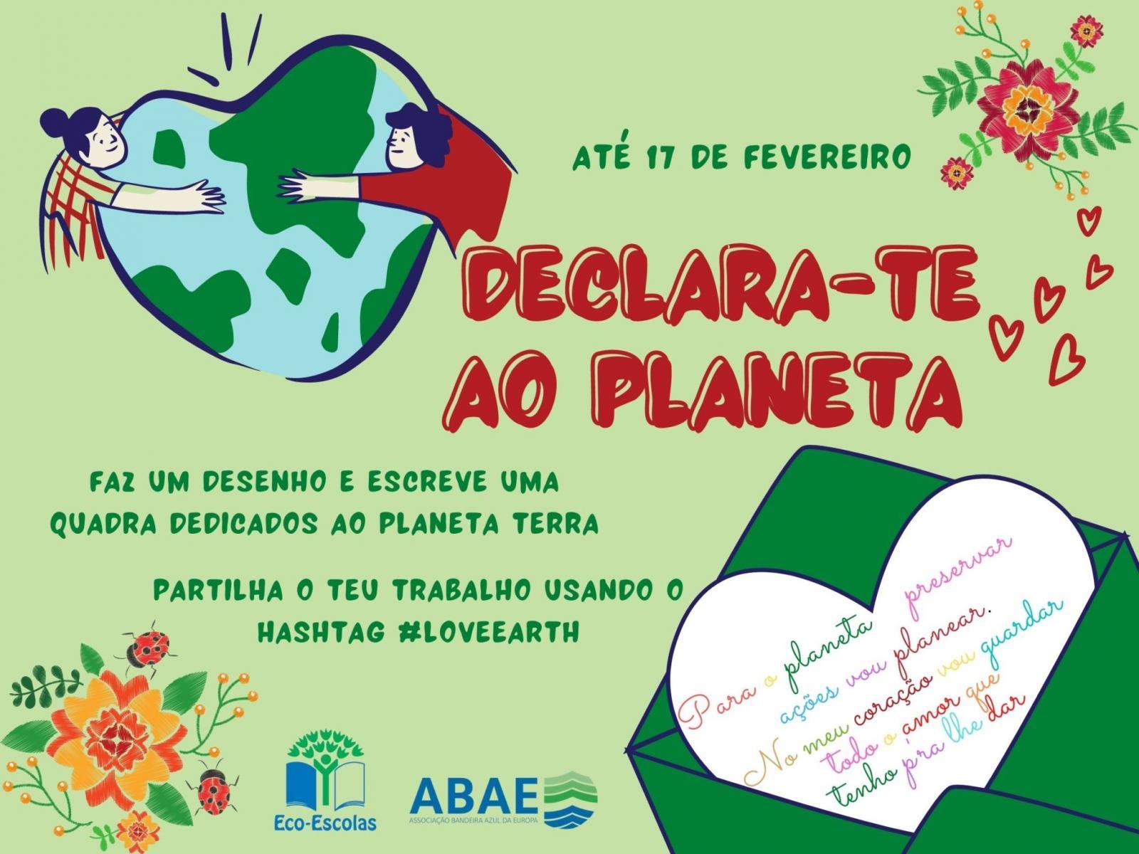 Declara-te ao Planeta!
