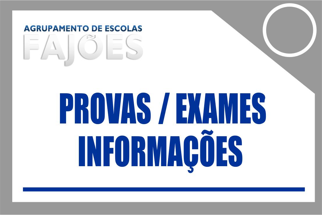 Calendário das Provas e Exames dos Ensinos Básico e Secundário