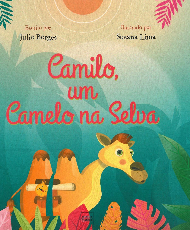 Camilo, um camelo na selva - Audiobook