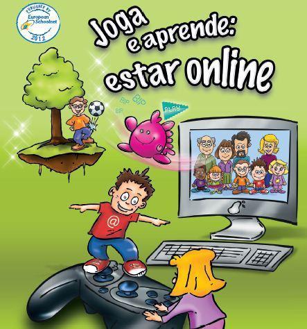 Joga e aprende: estar online
