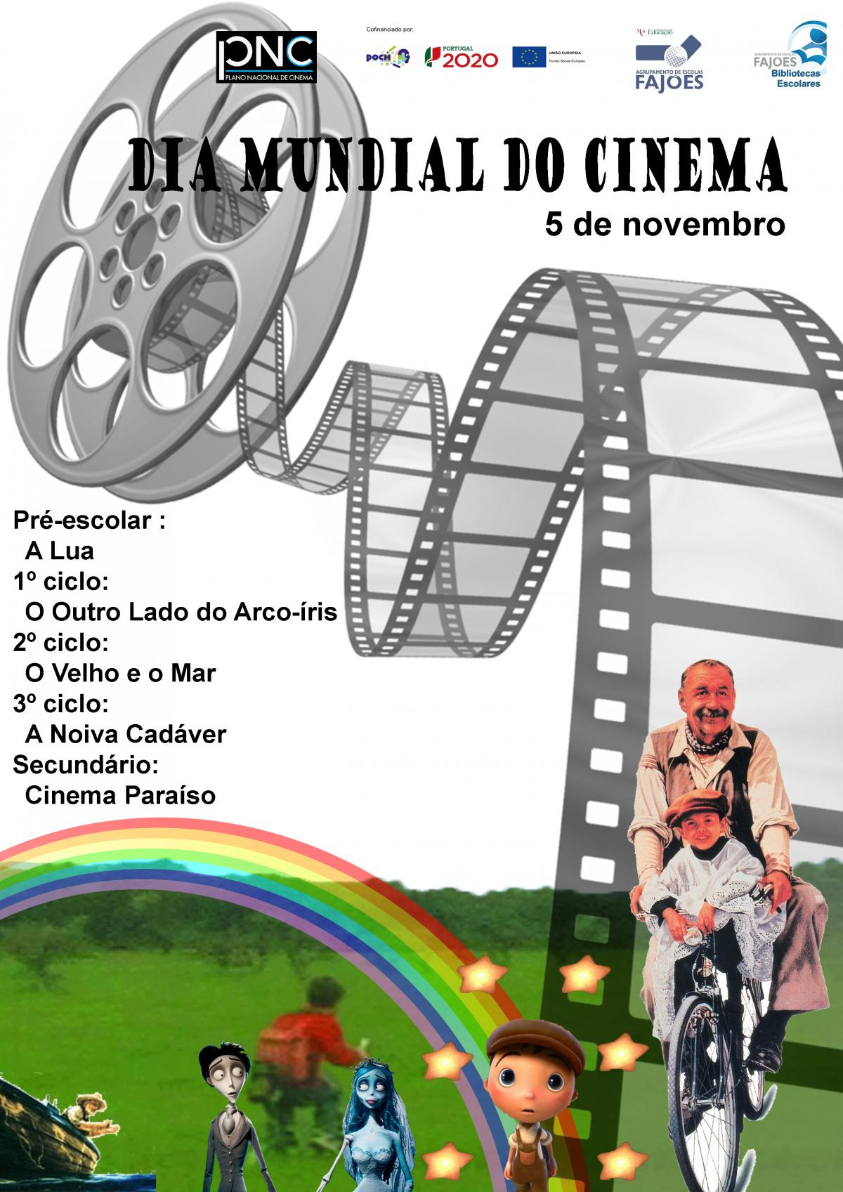 Dia Mundial do Cinema 2019
