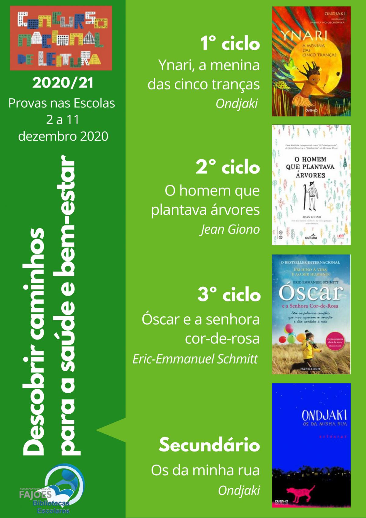 Concurso Nacional de Leitura 2020-2021