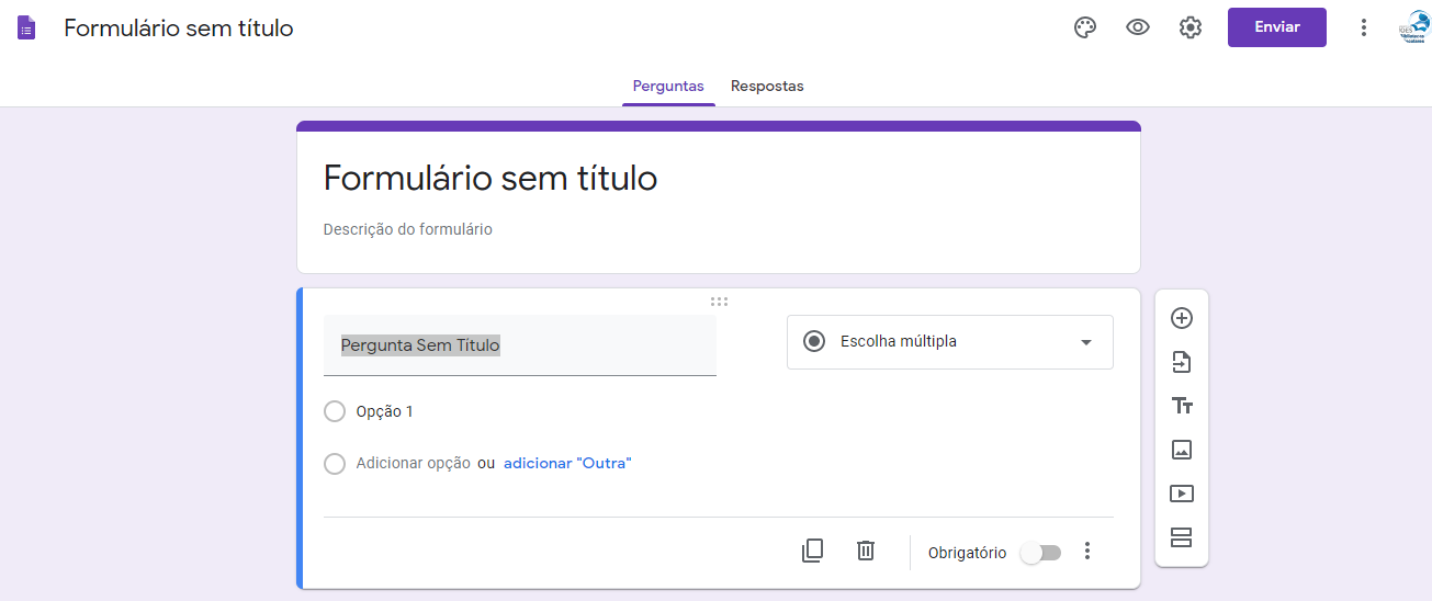 Como criar um formulário Google