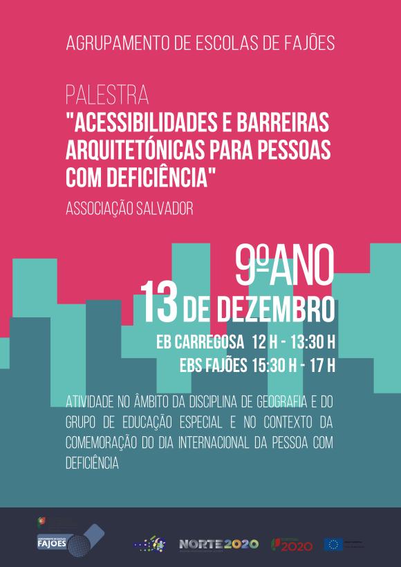 Palestra sobre acessibilidades - Associação Salvador